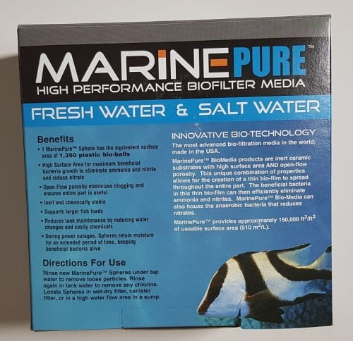 mairne pure sphere biological filter