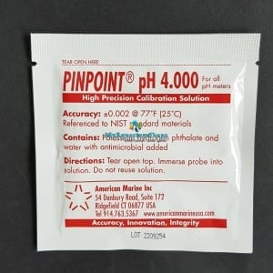 american pin point ph 4 calibration