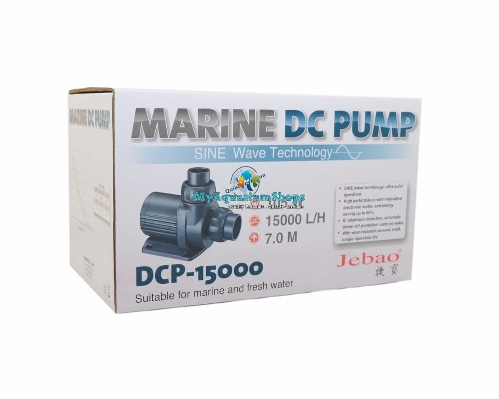 jebao dcp15 000 pump new model max flow 15 000 litres hr