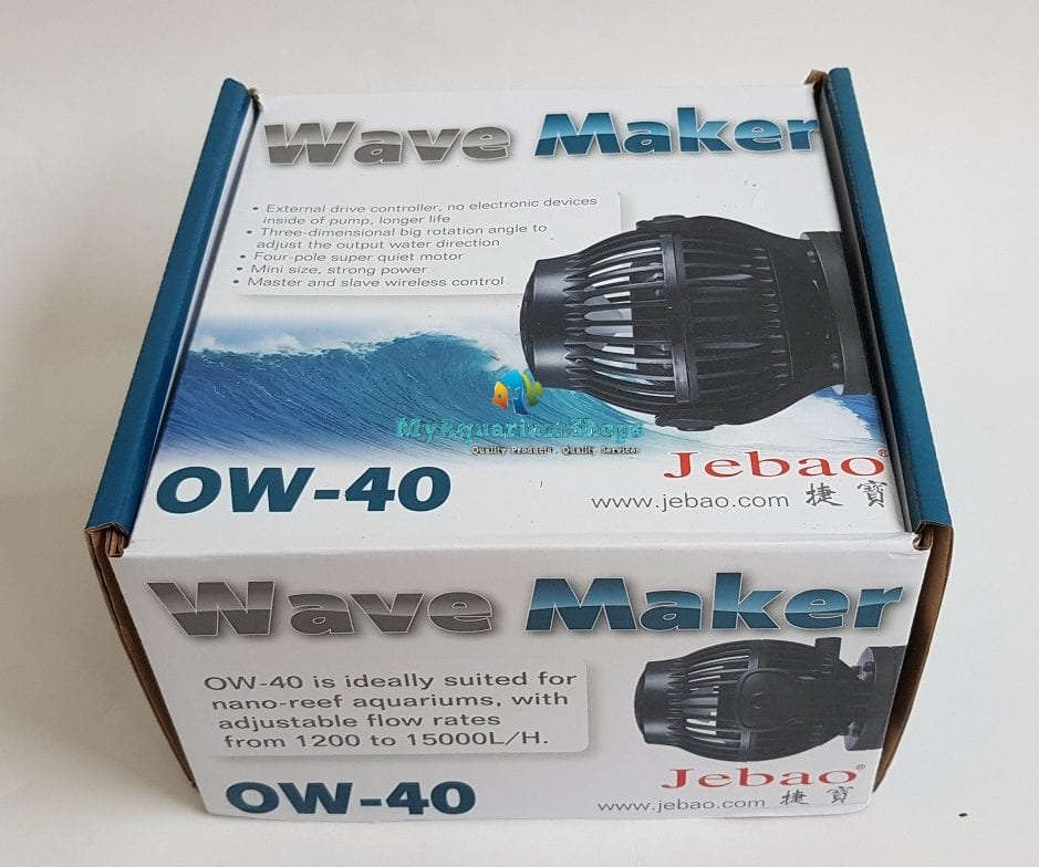 jebao ow 40 wave maker pump 1200 13 500 litres hrs