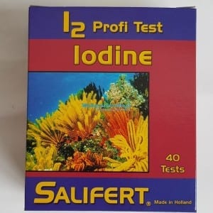 salifert iodine test for marine
