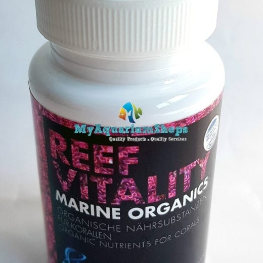 Reef Vitality Marine Organics organic nurients for corals growth booster & color enhancer