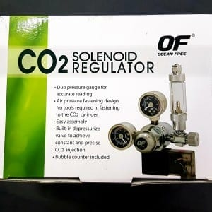 ocean free c02 soleniod regulator