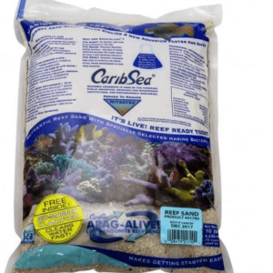 caribsea natural reef live sand