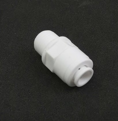 6mm water filter connector with thread