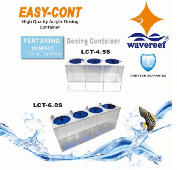 wavereef dosing container