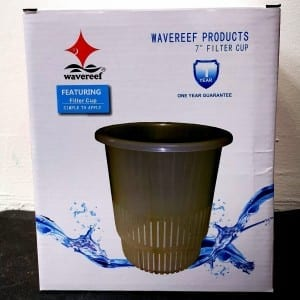 "wavereef 7"" filter cup"